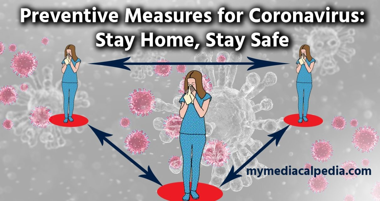 Preventive Measures for Coronavirus: Stay Home, Stay Safe