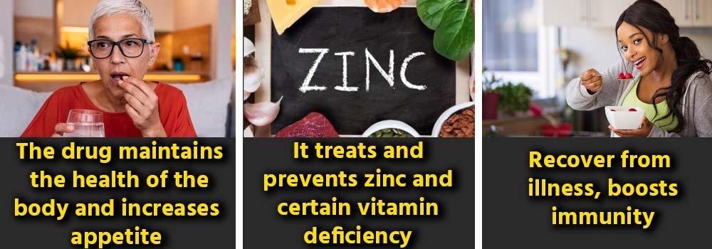 uses of Zincovit , benefits of Zincovit, Dosages of Zincovit, Side effects of Zincovit, Precautionary Measures of Zincovit