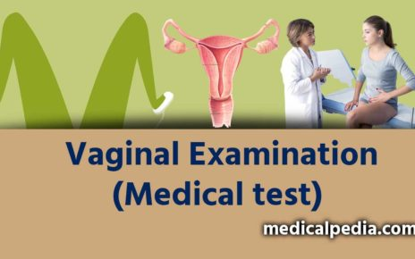 What is Vaginal Examination Medical test?